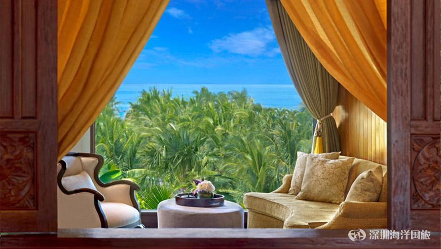 巴厘岛瑞吉酒店 / 深圳市海洋国际旅行社马代专题